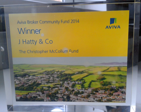 Aviva Award for CHRIS