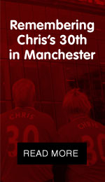 Remembering Christopher's 30th in Manchester