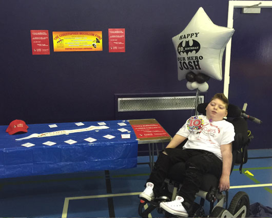 Josh's 10th Birthday Fundraiser