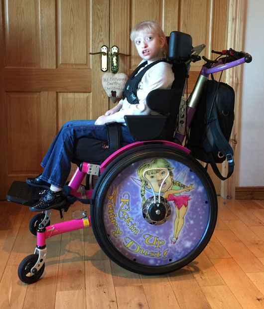 Natasha's Veldink Wheelchair Creates Fairy Dust