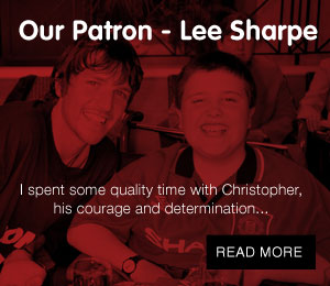 Our Patron - Lee Sharpe